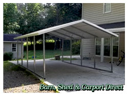 Barn, Shed and Carport Direct | Area Leader in Metal Carports